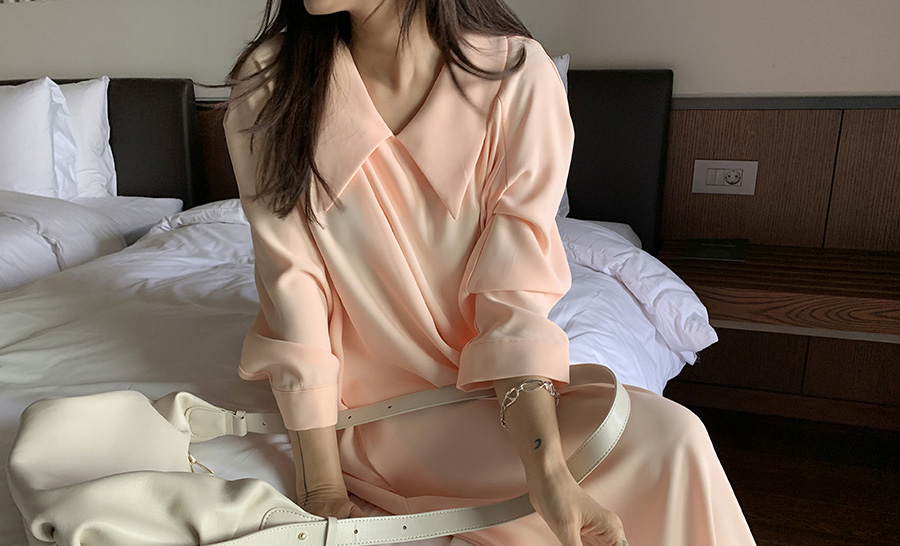 ribbontie-나흐나흐438 OPS♡韓國女裝連身裙