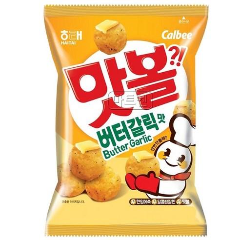 韓國海太 香蒜牛油脆波 60g