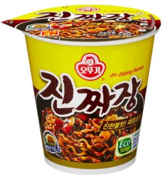 不倒翁♥「金」炸醬碗裝拉麵/1pc