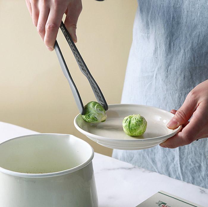 cozycotton-[국내제작 바닥에 닿지않는 실리콘 엣지 다용도집게]♡韓國家品廚具