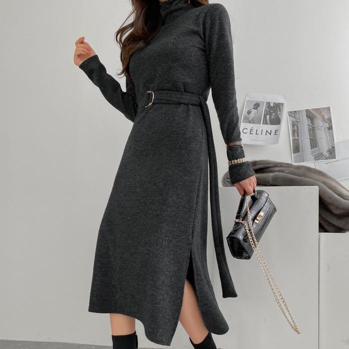 dabagirl-텐저링기모원피스♡韓國女裝連身裙
