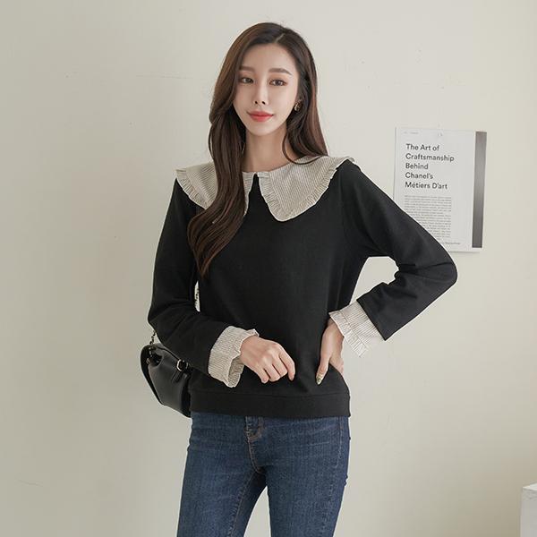 canmart-[로베카라티셔츠 C102220]♡韓國女裝上衣
