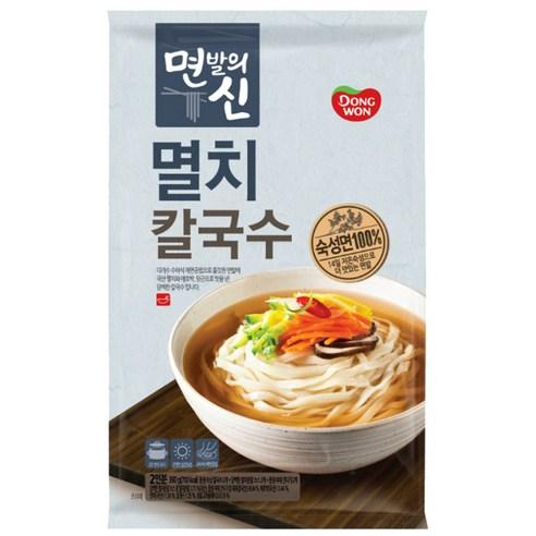 韓國東遠 - 鯷魚湯手切烏冬 390g (2人份量)
