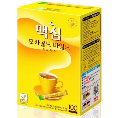 韓國 DongSuh Maxim 三合一即溶咖啡 1.2g x 100包