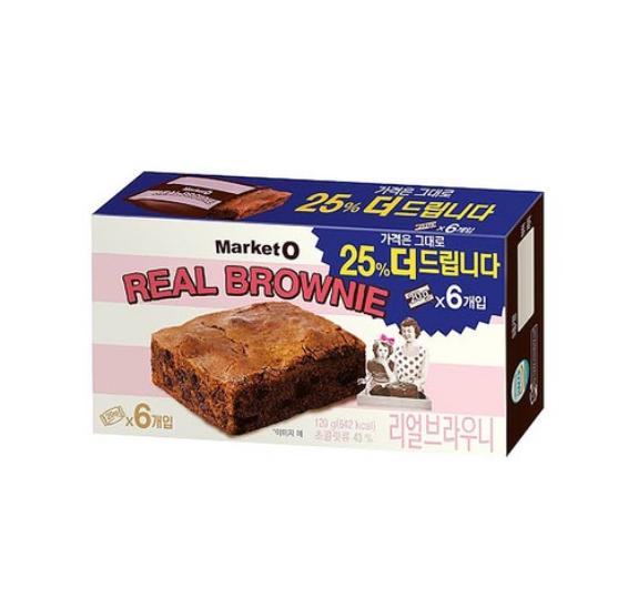 마켓오 Market O 布朗尼朱古力蛋糕 一盒 6件/ 120g