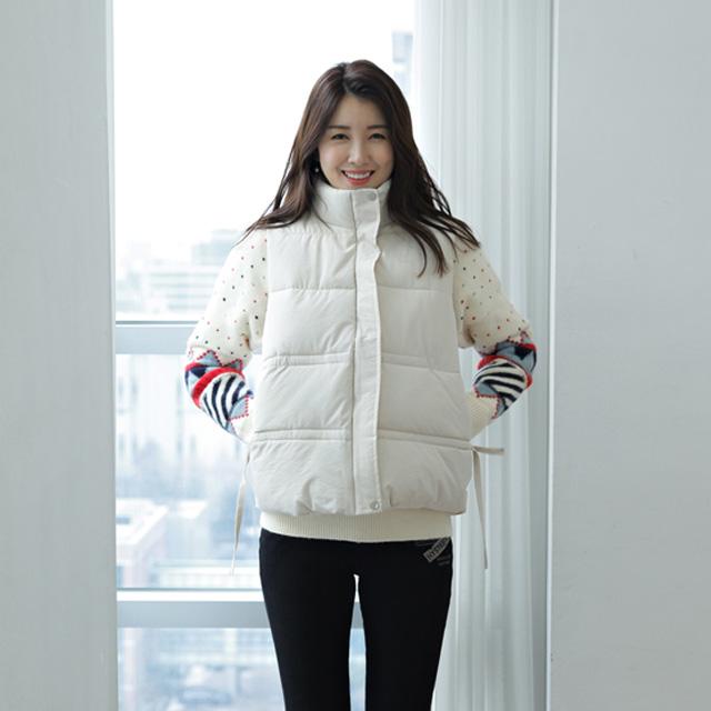 tiramisu-117레벨패딩조끼♡韓國女裝外套
