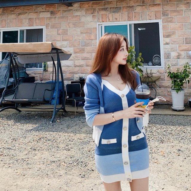 mybany-(프리오더)모어가디건SET원피스♡韓國女裝外套