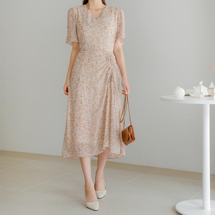 09women-[잇츠 스트랩 셔링 롱 원피스 50307]♡韓國女裝連身裙