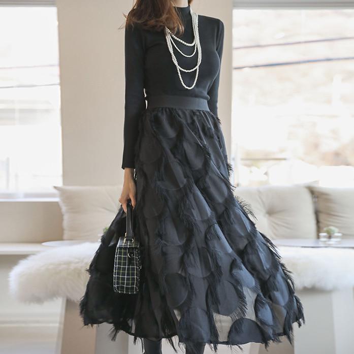 dabagirl-블랙스완투피스♡韓國女裝套裝