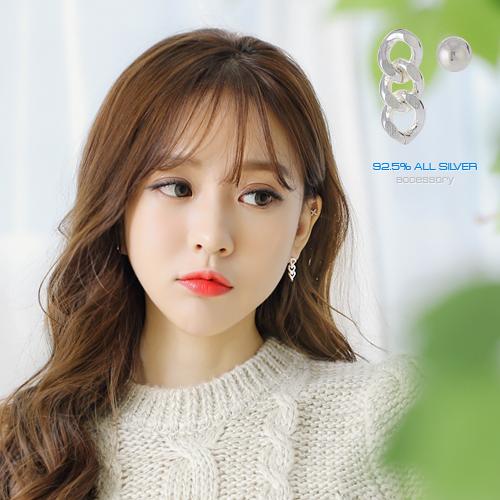 soo-soo-[귀걸이세젤 (17ES947) [1color]]♡韓國女裝飾品