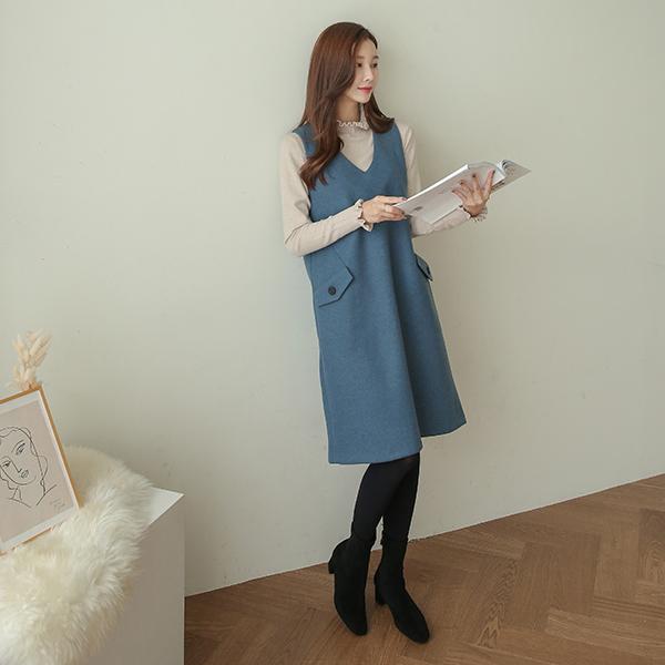 canmart-[라니포켓원피스 C111817]♡韓國女裝連身裙