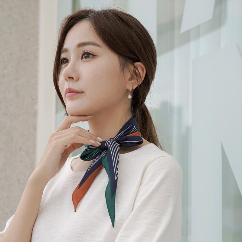 clicknfunny-[세루몬 배색스카프]♡韓國女裝飾品