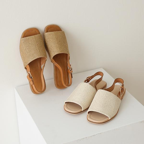 canmart-[프루니라탄샌들 C071349]♡韓國女裝鞋
