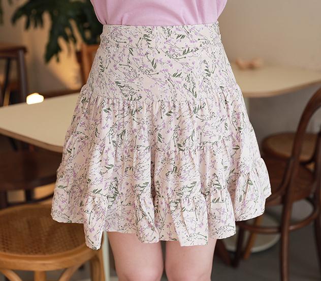 myfiona-캉캉플라워*pants/a0305 - 로맨틱 러블리 피오나♡韓國女裝褲