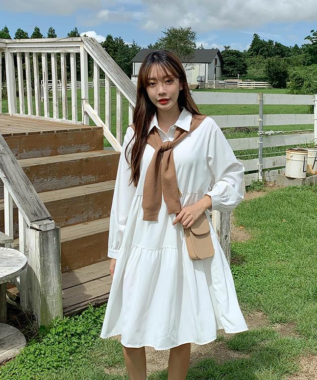 sonyunara-데이즈캉캉숄원피스♡韓國女裝連身裙