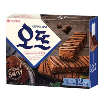 오리온 Orion 朱古力蛋糕 一盒 12p/300g