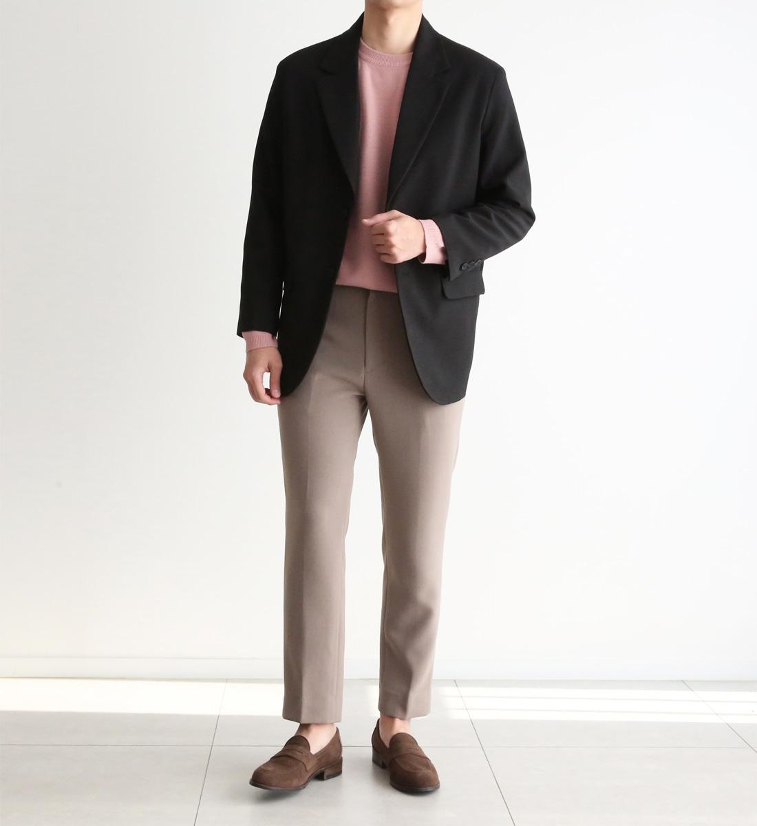allo-d-로프 투버튼 싱글자켓♡韓國男裝外套