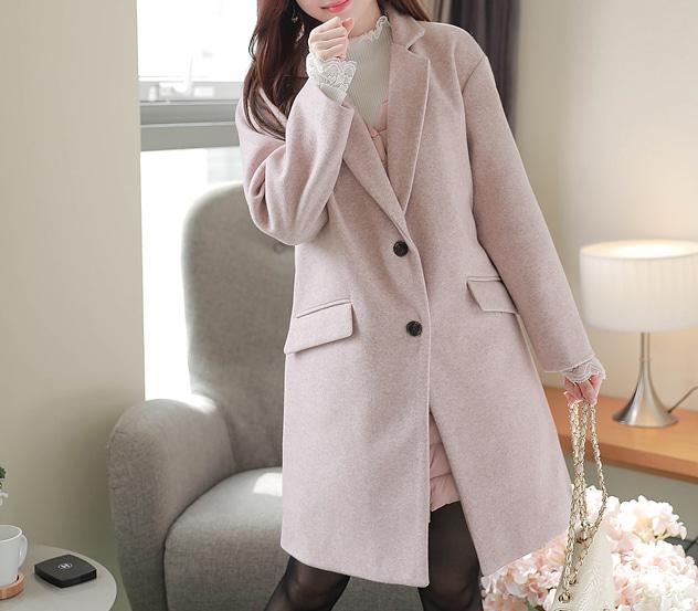myfiona-플랩투버튼*coat/m9174 - 러블리 로맨틱룩 1위 쇼핑몰 피오나♡韓國女裝外套