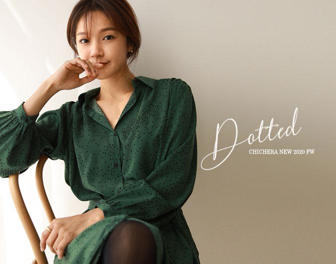 chichera-시크헤라[로넬린도트원피스]♡韓國女裝連身裙