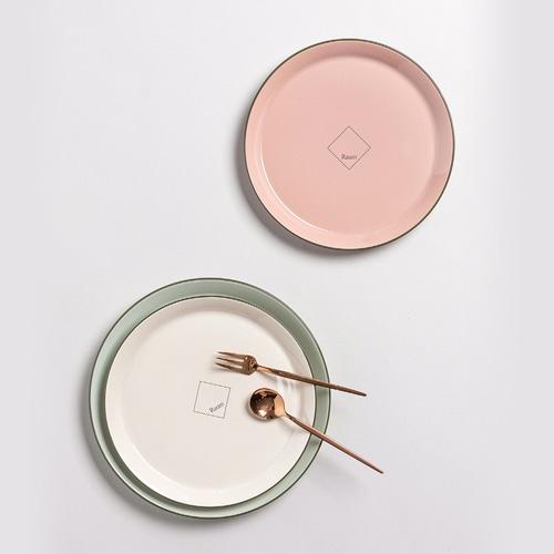ssueim-뉴라움 원형접시 소 (2color)♡韓國家品碟具