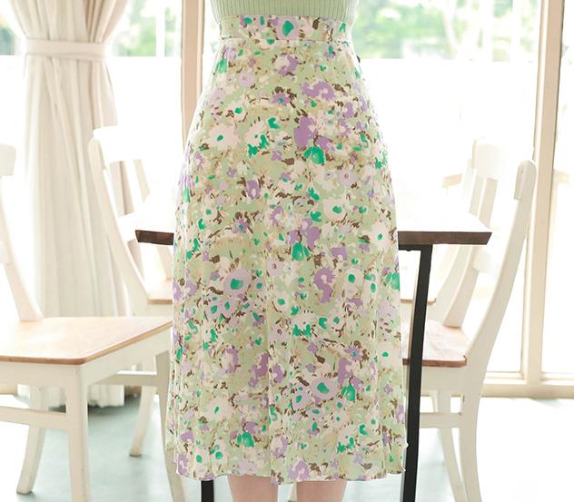 myfiona-플라워사이로*skirt/a0459 - 로맨틱 러블리 피오나♡韓國女裝裙