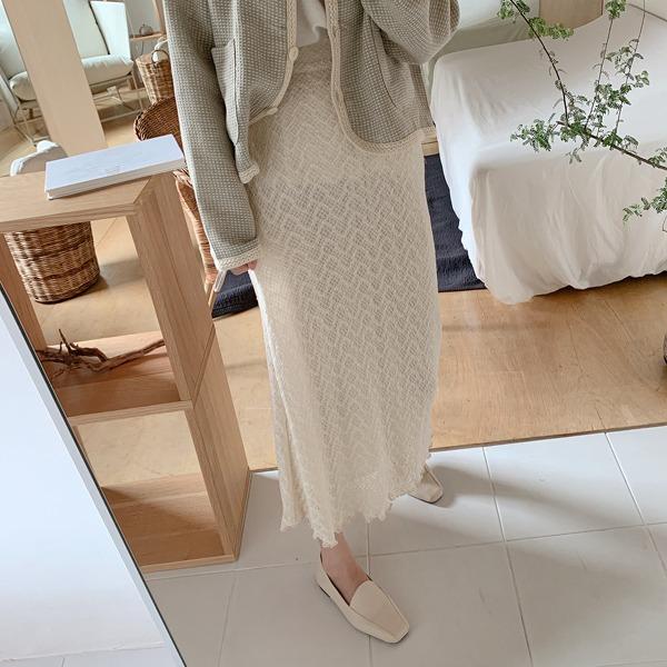 fine-thankyou-레이디레이스스커트_2color♡韓國女裝裙