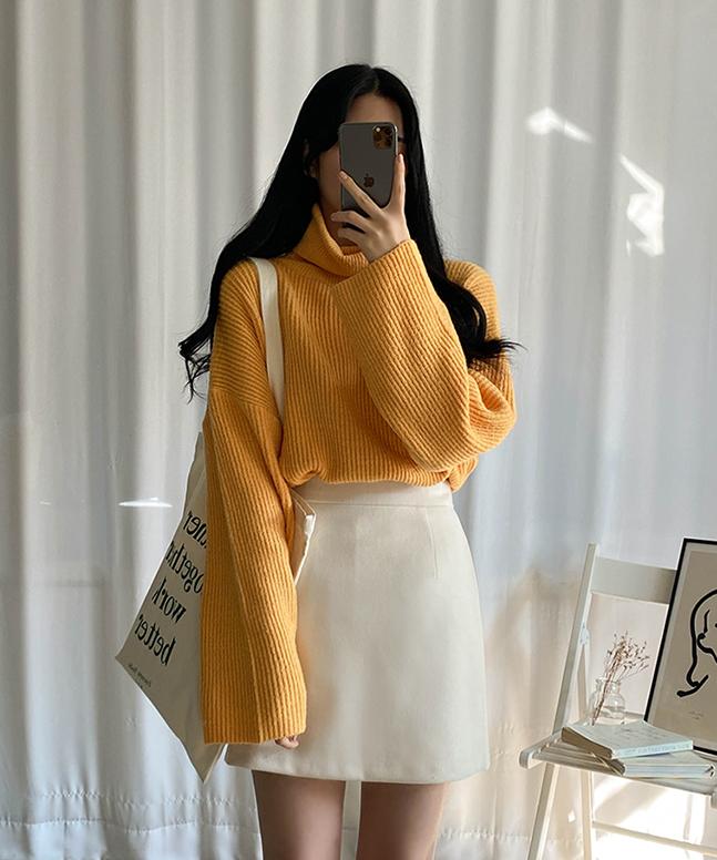 sonyunara-포레스트폴라니트 (6colors!)♡韓國女裝上衣