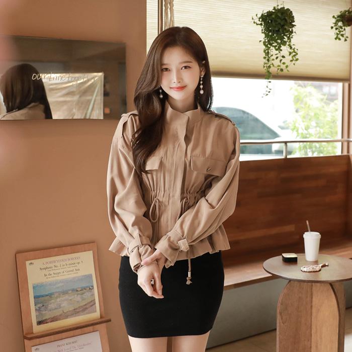 myfiona-셀럽야상*jacket/a0777 - 러블리 로맨틱룩 1위 쇼핑몰 피오나♡韓國女裝外套