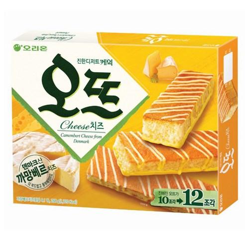 오리온 Orion芝士蛋糕 一盒/12p 288g