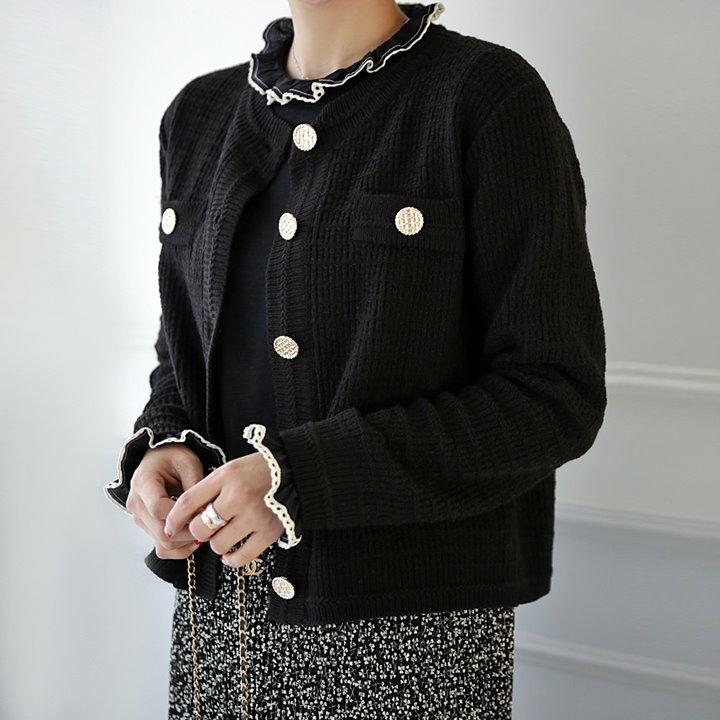 lemite-메리골드 숏가디건♡韓國女裝外套