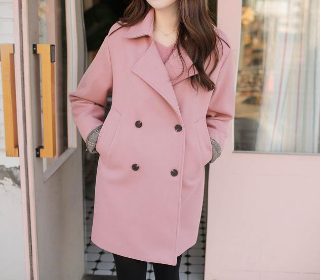 myfiona-시크체크*coat/m7275 - 러블리 로맨틱룩 1위 쇼핑몰 피오나♡韓國女裝外套