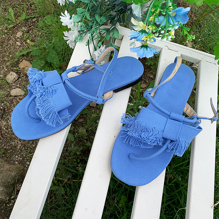 lagirl-리본수술-shoes♡韓國女裝鞋