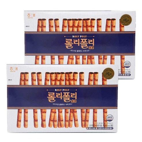 韓國海太朱古力醬夾心餅乾條 196g