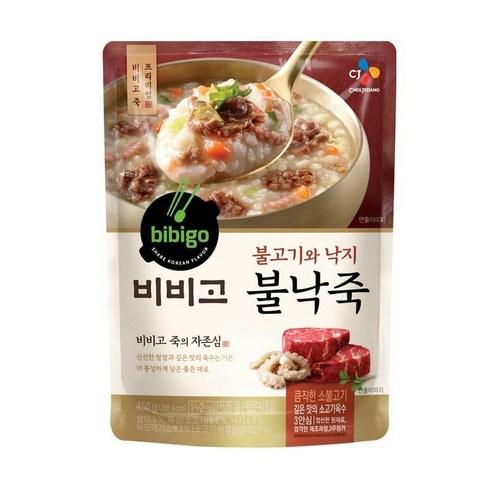Bibigo 비비고 八爪魚牛肉即食粥 450g
