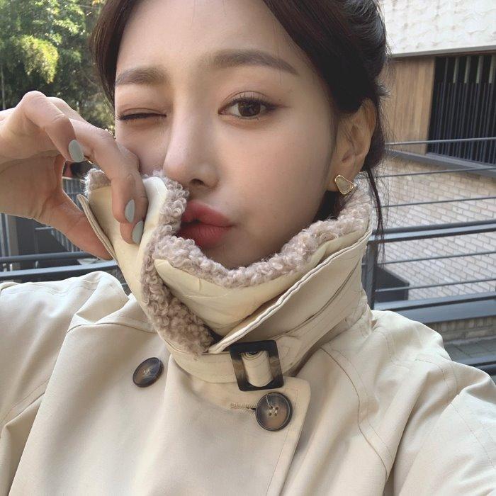 theresheis-네잉 아크릴 언발 이어링♡韓國女裝飾品