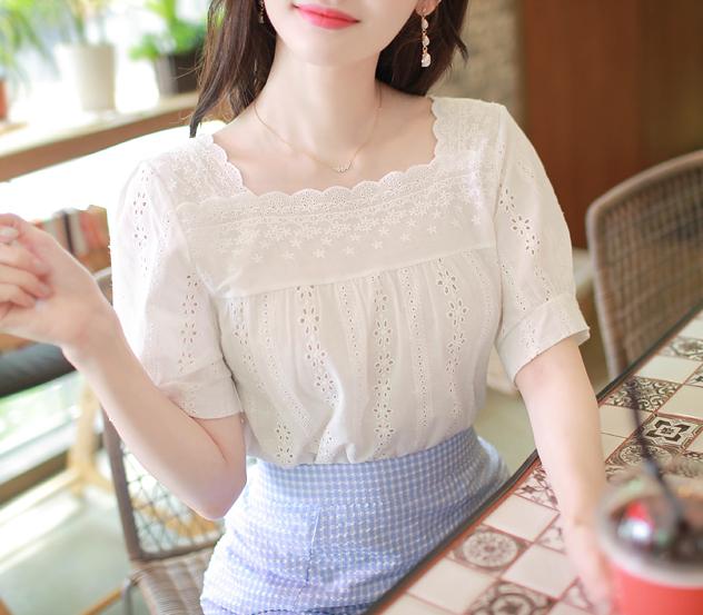 myfiona-깨끗한너에게*blouse/m8550 - 로맨틱 러블리 피오나♡韓國女裝上衣