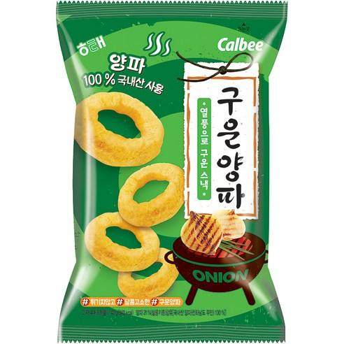 韓國海太 calbee 炭烤風味洋蔥圈 一包/70g