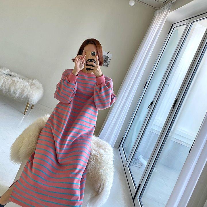 lemite-츄잉 기모원피스♡韓國女裝連身裙