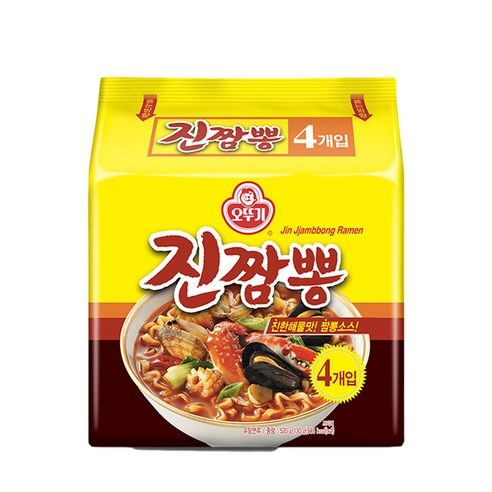 不倒翁金海鮮辣麵 130g x 4包