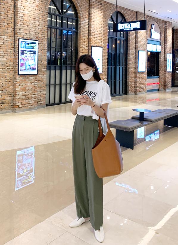 againby-[바린핀탁슬랙스 pants]♡韓國女裝褲