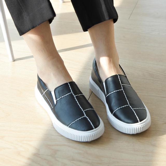tiramisu-TR/스티치스니커즈♡韓國女裝鞋