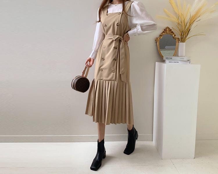 tomnrabbit-[클로저원피스세트[2color]]♡韓國女裝套裝
