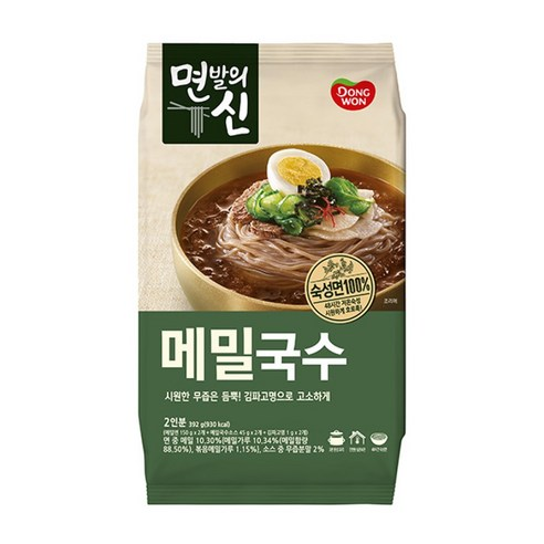 韓國東遠 - 韓式蕎麥冷麵 392g (2人份量)