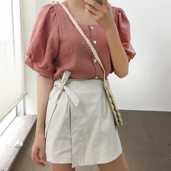 100jang-샤베뜨★블라우스팬츠세트♡韓國女裝套裝