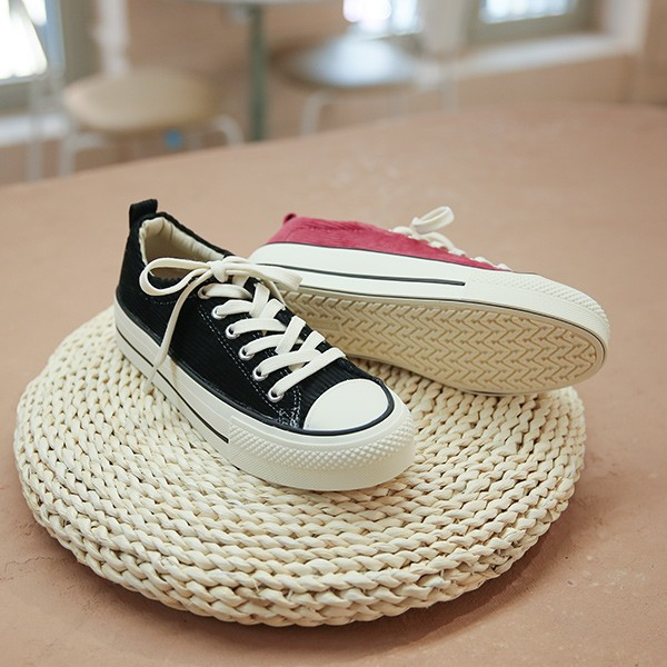 ode-[코듀로이 플랫폼 스니커즈]♡韓國女裝鞋