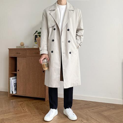 modernsweet-이프 트렌치 코트 3color - 모던스윗(modernsweet)♡韓國男裝外套