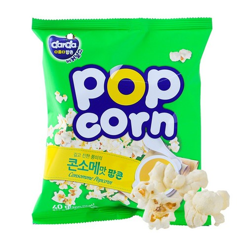 Darda POP corn 法國高湯味爆谷 40g