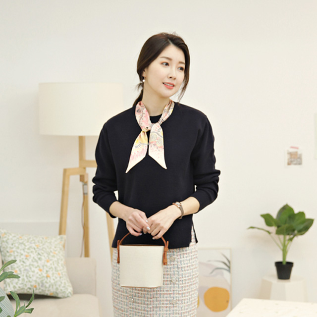 tiramisu-122코코스카프니트♡韓國女裝上衣