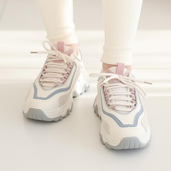 ode-[배색 라이닝 스니커즈]♡韓國女裝鞋