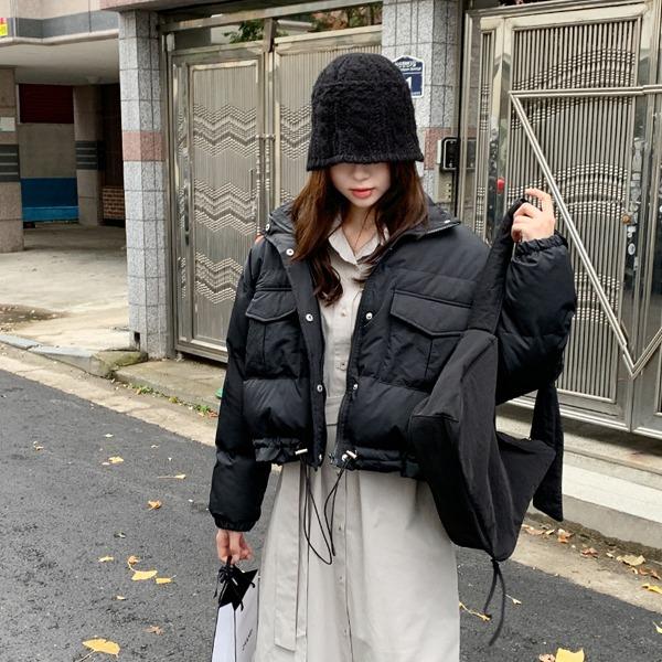 66girls-파운드크롭패딩♡韓國女裝外套